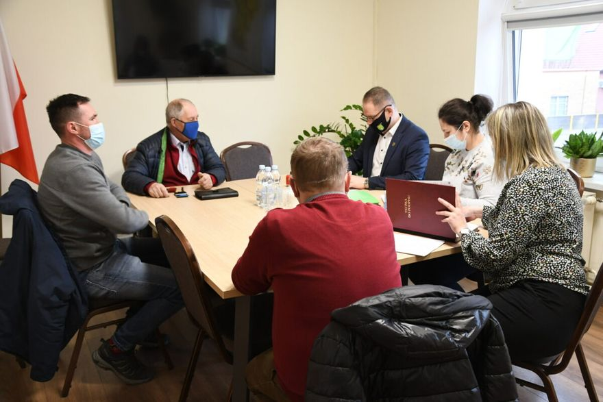 Gmina Marcinowice: Umowy podpisane
