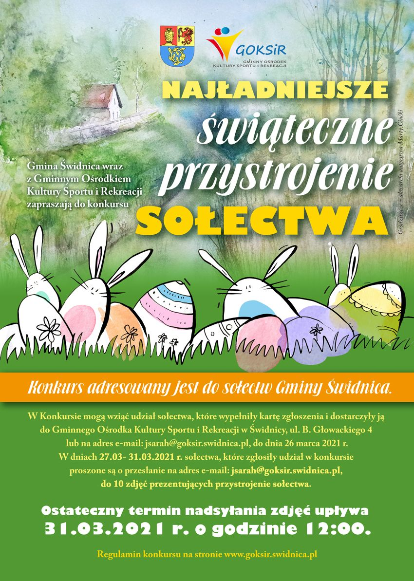 Gmina Świdnica: Wielkanocny konkurs