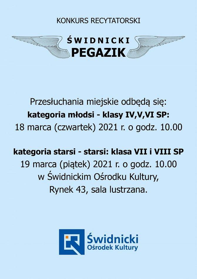 Świdnica: Pegazik dla uczniów