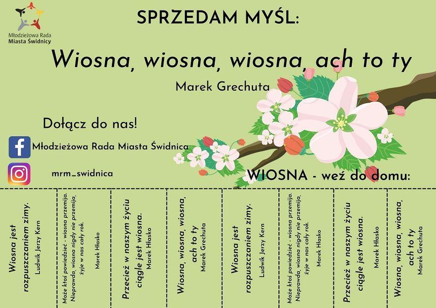 Świdnica: Witają wiosnę