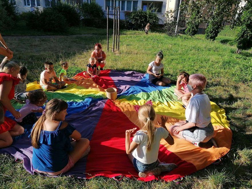 Świdnica: Lato na podwórku