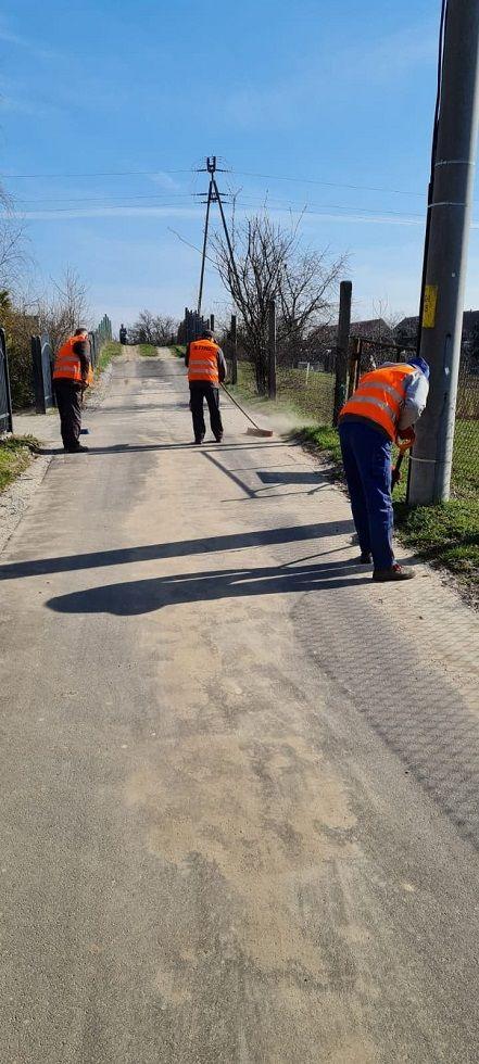 Gmina Świdnica: Sprzątanie po zimie