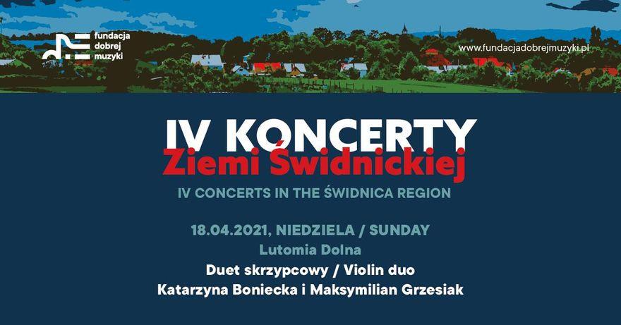Gmina Świdnica: Pierwszy koncert