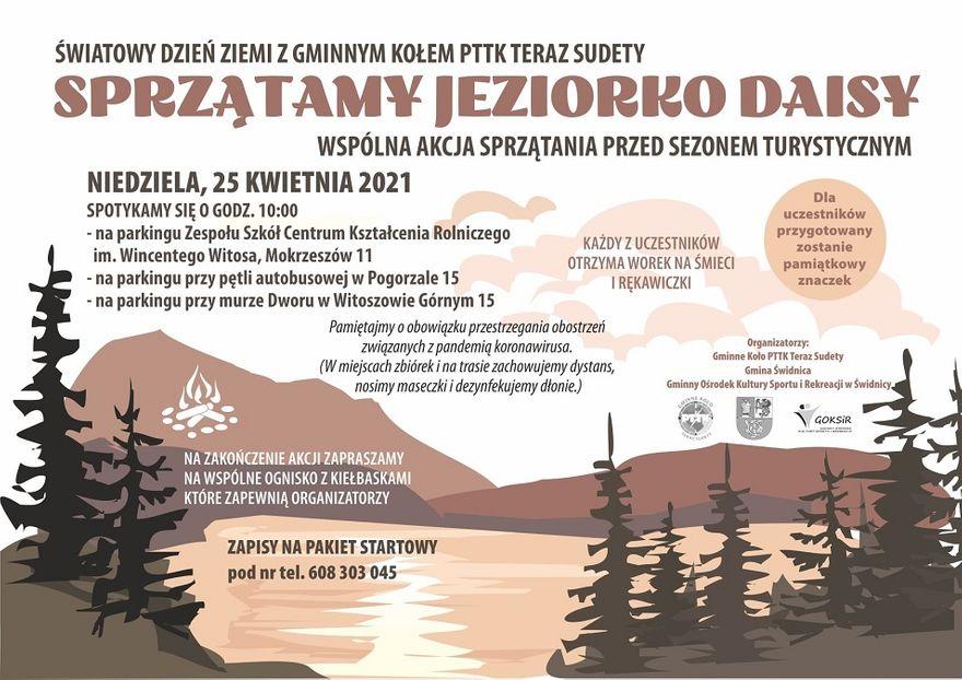 Gmina Świdnica: Posprzątają jeziorko