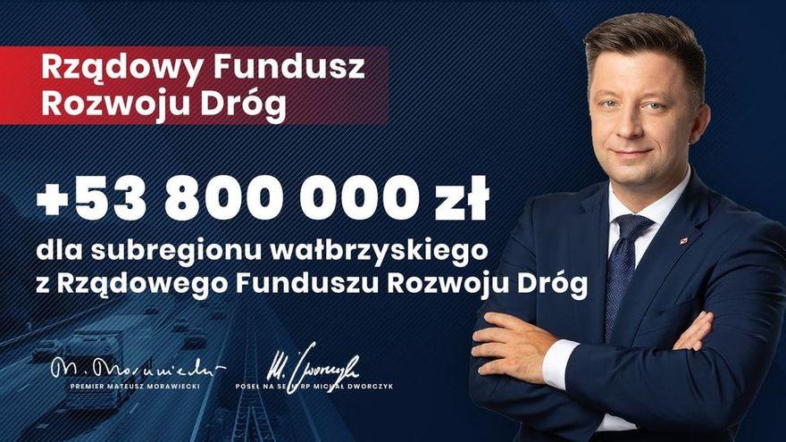 powiat świdnicki: Pieniądze na drogi