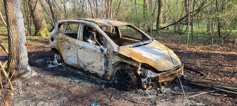 Świebodzice: Ukradł i spalił