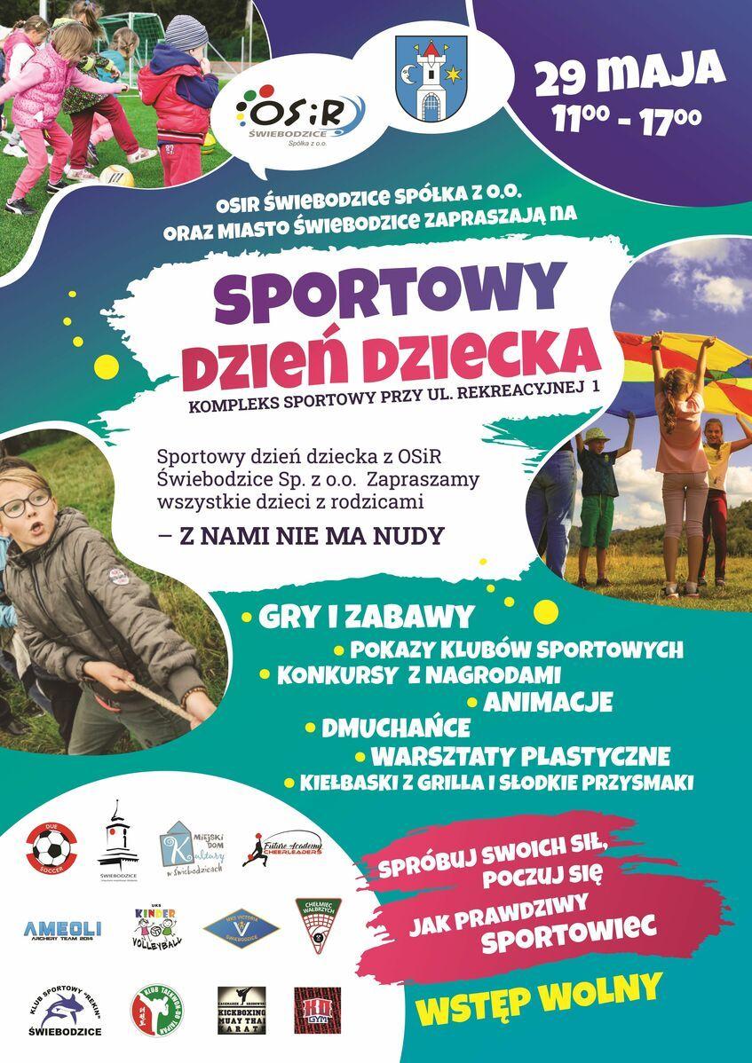 Świebodzice: Sportowy Dzień Dziecka