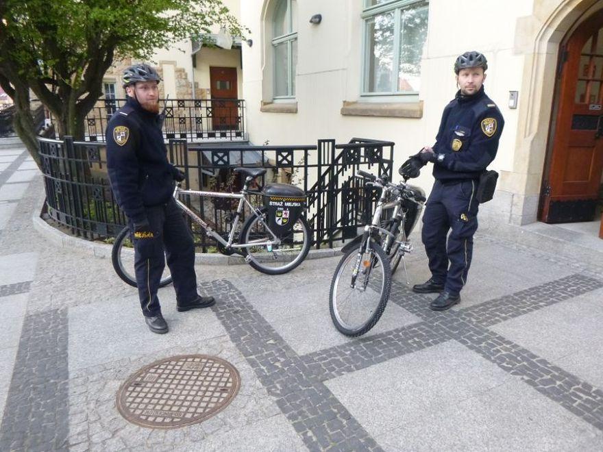 Świdnica: Strażnicy w pracy