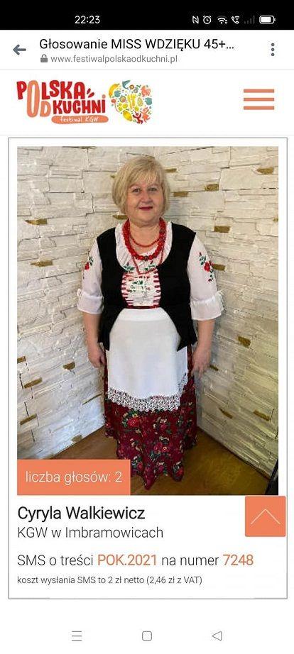Imbramowice: Głosuj na gospodynię z Imbramowic