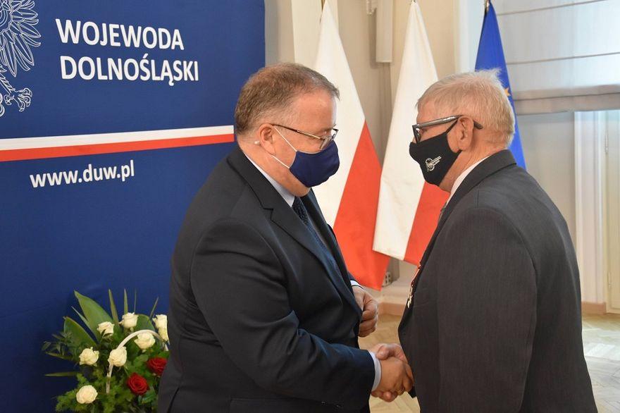Bystrzyca Dolna: Odznaczenie dla Zygmunta Zelka
