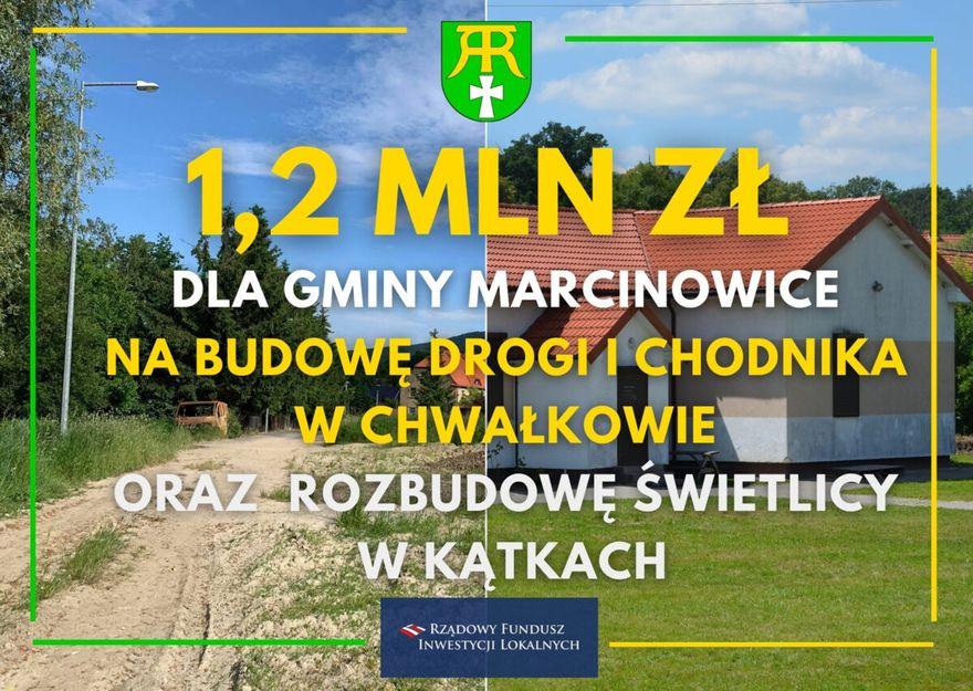 Gmina Marcinowice: Dla po PGR–owskich gmin