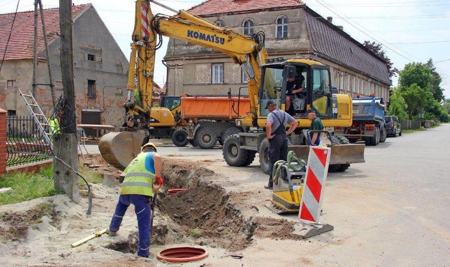 Gmina Dobromierz: Kanalizacja coraz bliżej