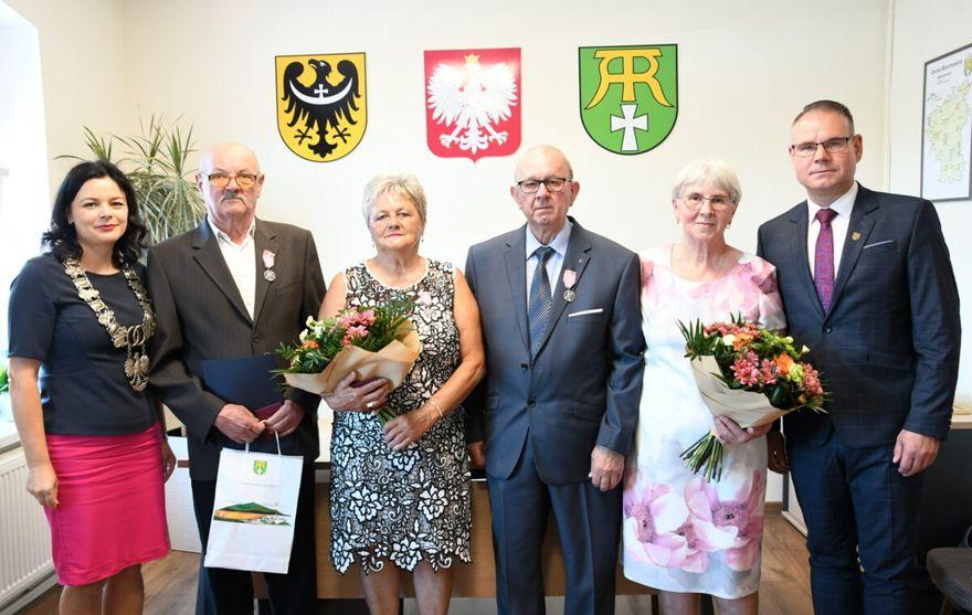 Gmina Marcinowice: Świętowali jubileusze