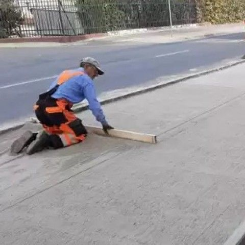 Olszany: Chodniki w Olszanach