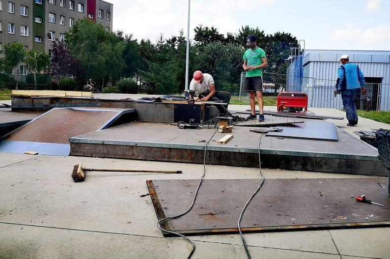 Żarów: Remont skateparku