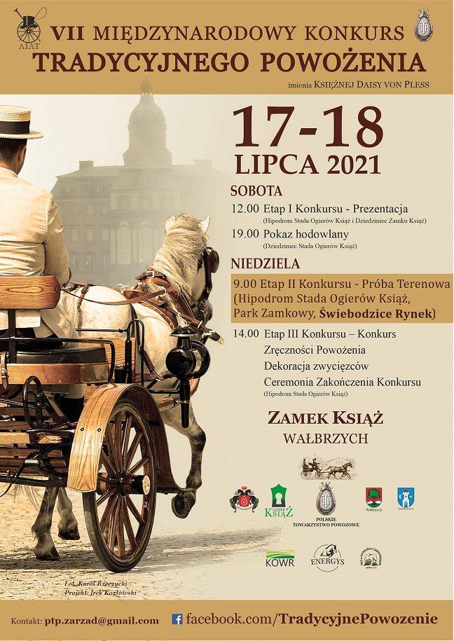 Wałbrzych/REGION: Konkurs powożenia