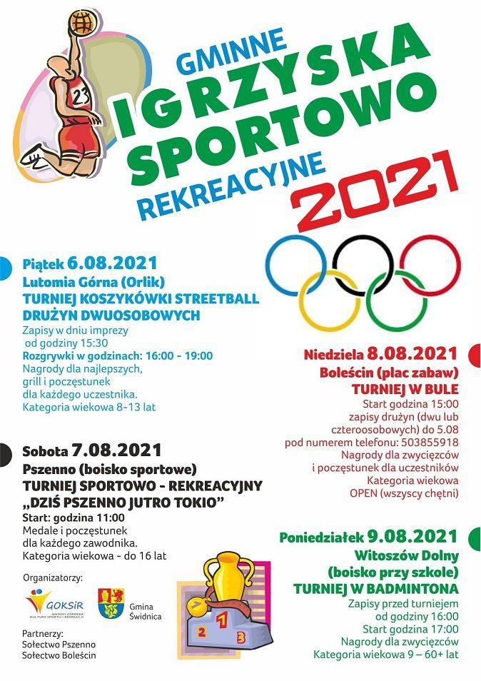 Gmina Świdnica: Gminne igrzyska