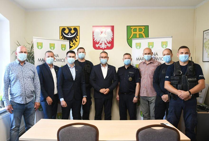 Gmina Marcinowice: Policyjne sprawy