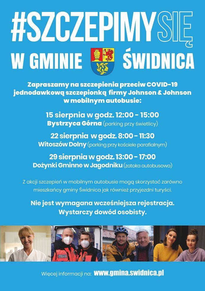 Gmina Świdnica: Szczepienia w gminie