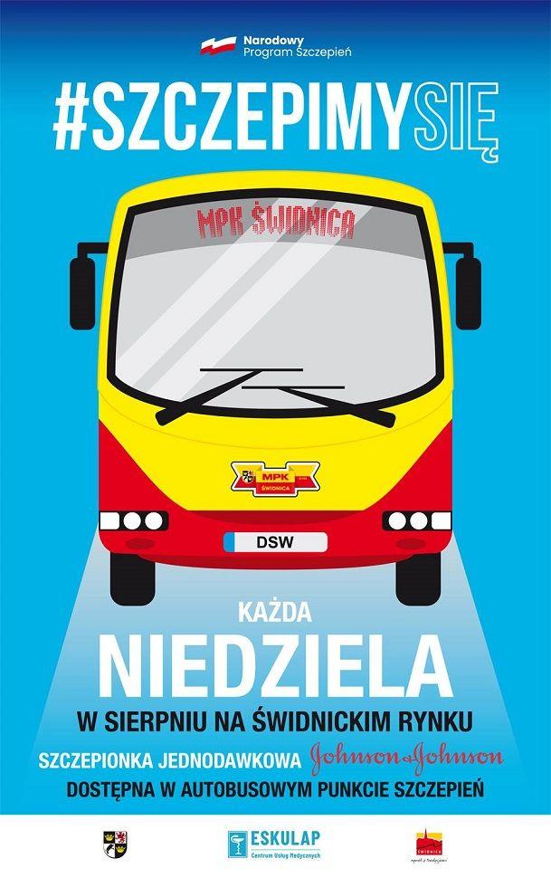 Świdnica: Zaszczep się w autobusie