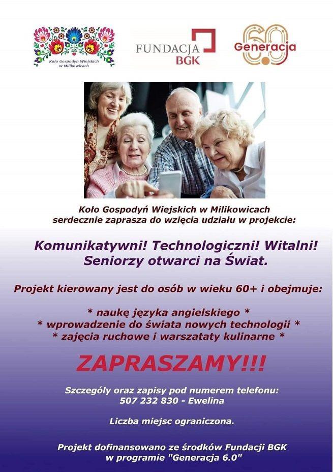 Milikowice: Aktywni seniorzy