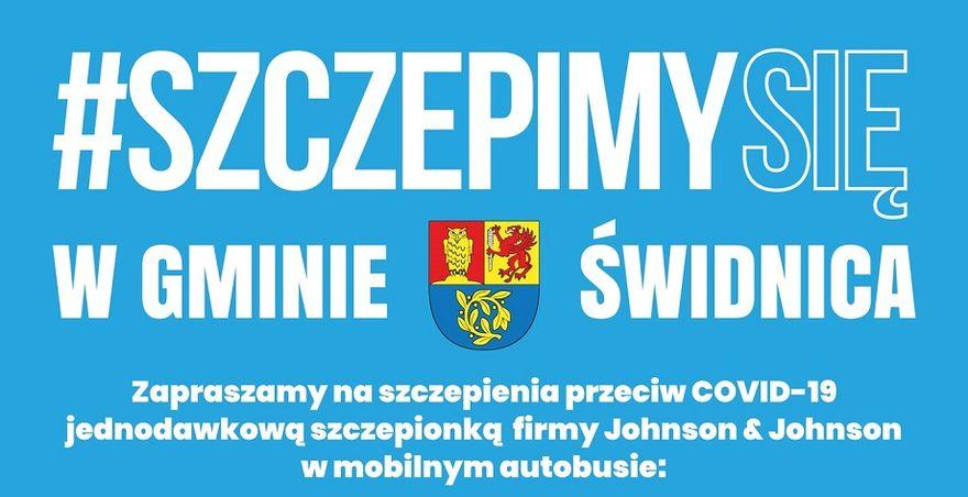 Gmina Świdnica: Mobilne szczepienia