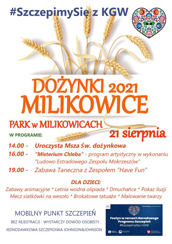 Milikowice: Dożynki w Milikowicach