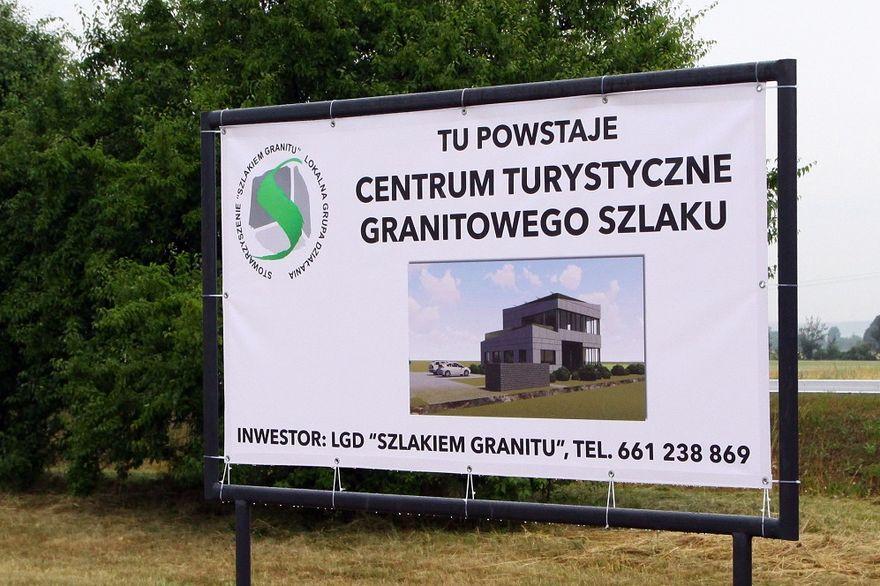 Dobromierz: Powstaje centrum turystyczne