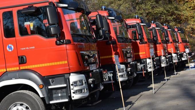 Gmina Świdnica: Strażacy ze sprzętem