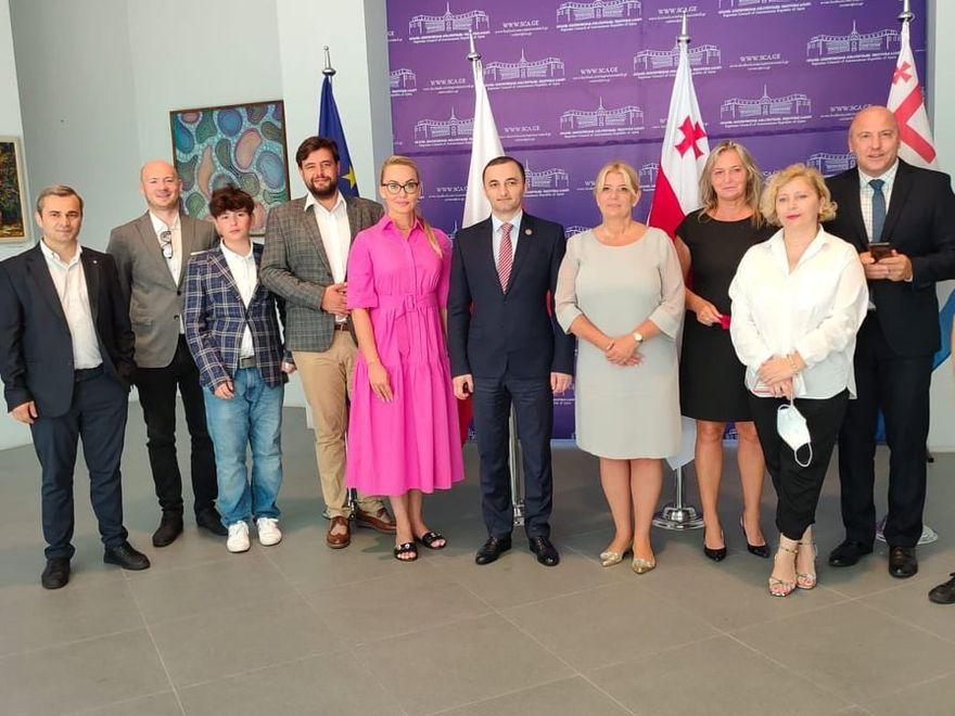 Świdnica: Delegacja z wizytą