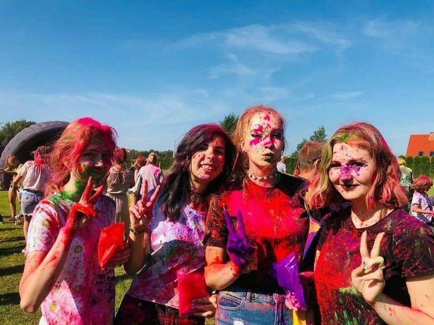 Świebodzice: Święto kolorów