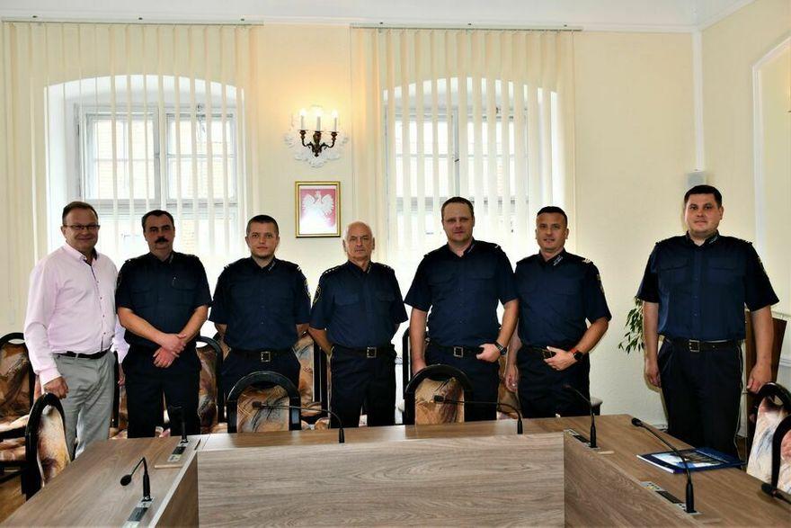Świebodzice: Spotkanie ze strażnikami
