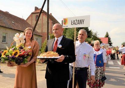 Łażany: Dożynki w Łażanach