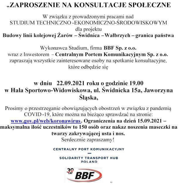Jaworzyna Śląska: Trwają konsultacje