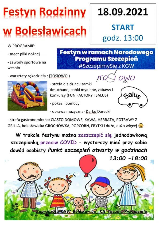 Bolesławice: Festyn w Bolesławicach