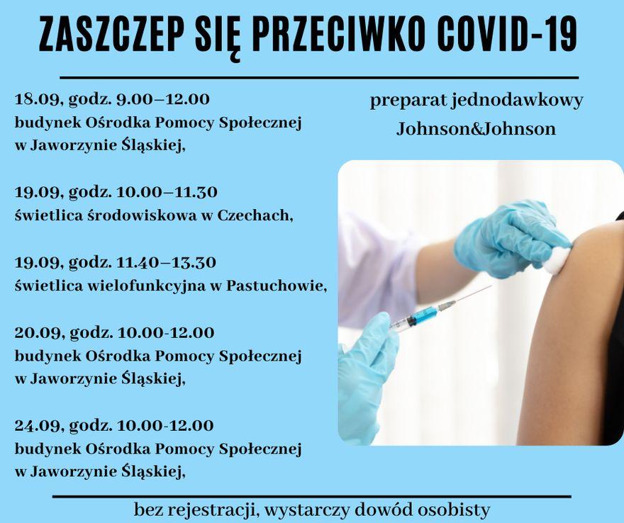 Jaworzyna Śląska: Namawiają do szczepień
