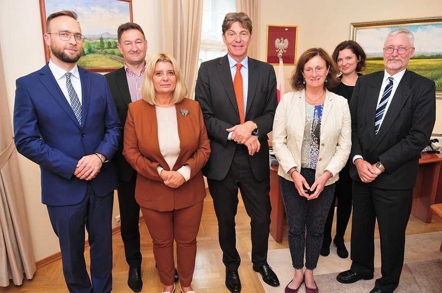 Świdnica: Wizyta ambasadora