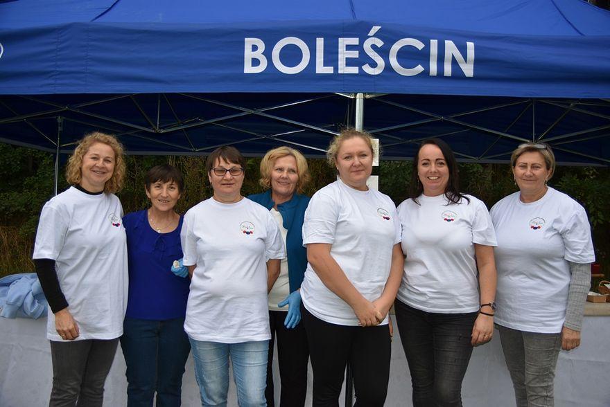 Boleścin: Promowały szczepienia
