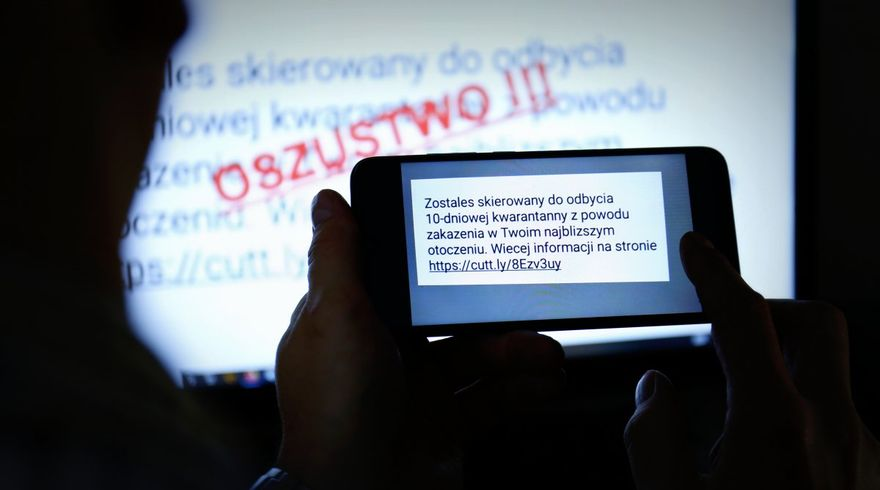 Świdnica/REGION: Fałszywe smsy