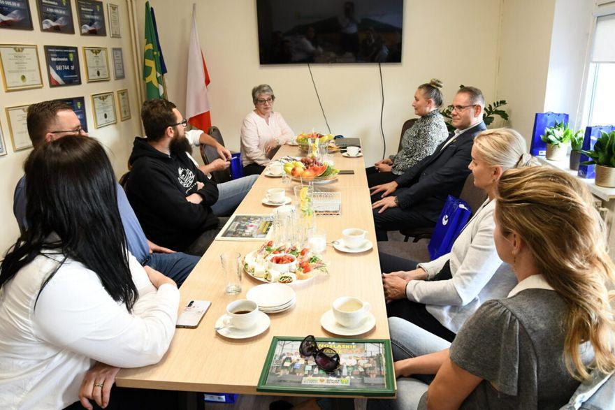 Marcinowice: Spotkanie z przedsiębiorcami