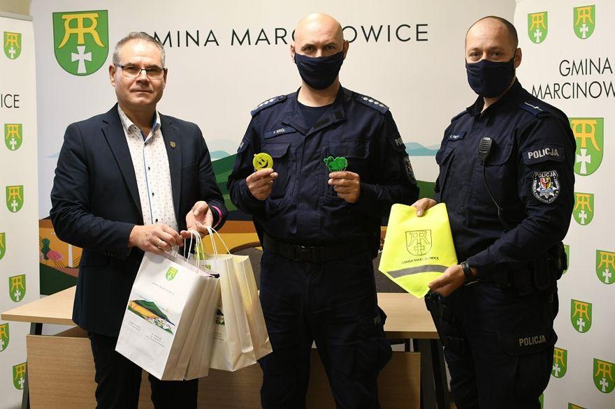 Gmina Marcinowice: Bezpiecznie do szkoły