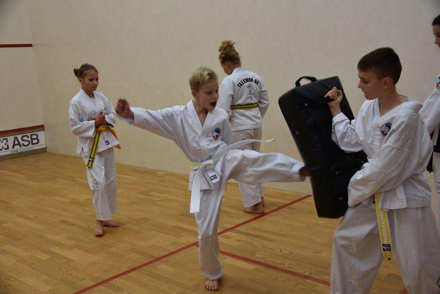 Witoszów Dolny: Treningi taekwondo