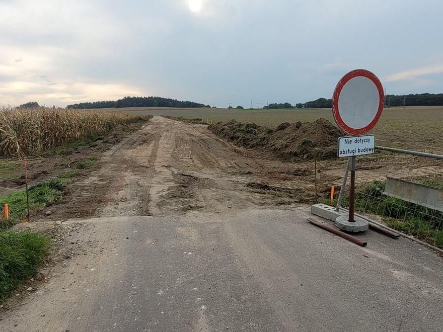 Gmina Świdnica: Na drogę dojazdową